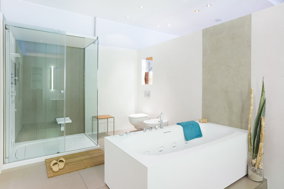 Badezimmer Interieur Fotografie
